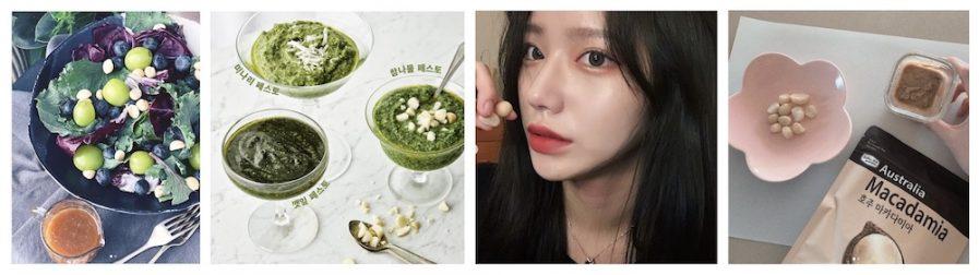 Korean influencer posts