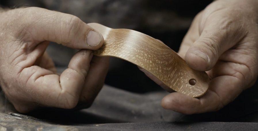 Macadamia wood furniture handle